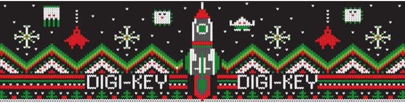 Digi-Key Ugly Sweater